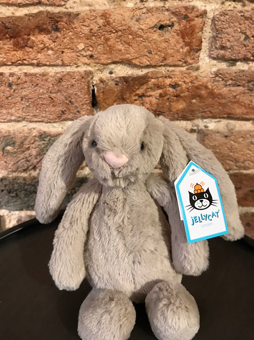 Jellycat Small Bashful Beige Bunny