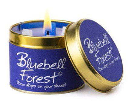 Lily Flame candle...Bluebell Forest