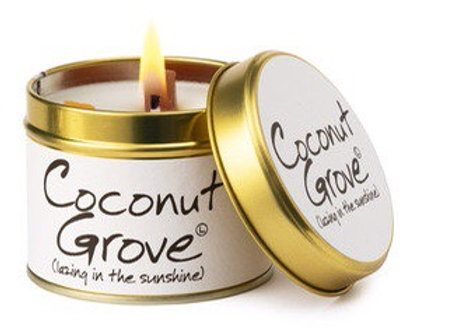 Lily Flame candle...Coconut Grove