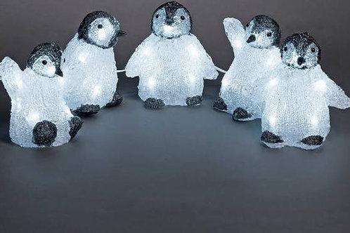 Outdoor/indoor LED Penguin Lights