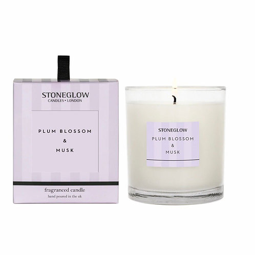 Plum blossom & musk candle