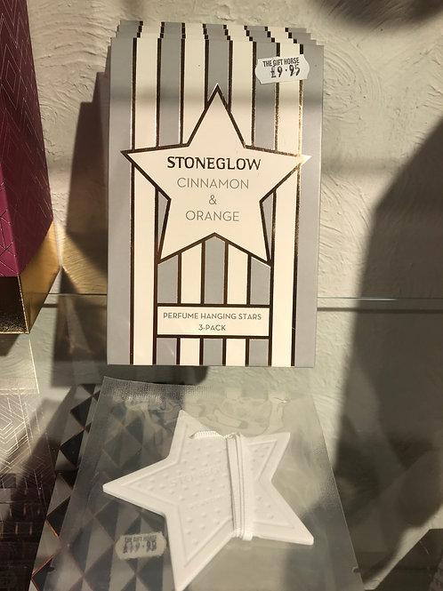 Stoneglow fragranced hanging stars