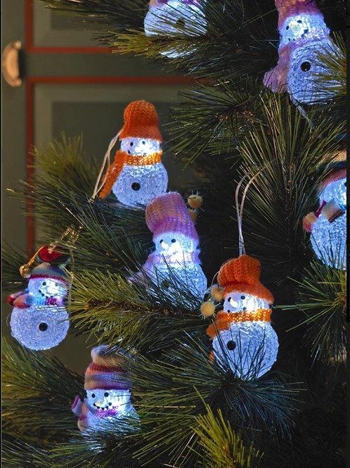 Indoor LED snowman Lights