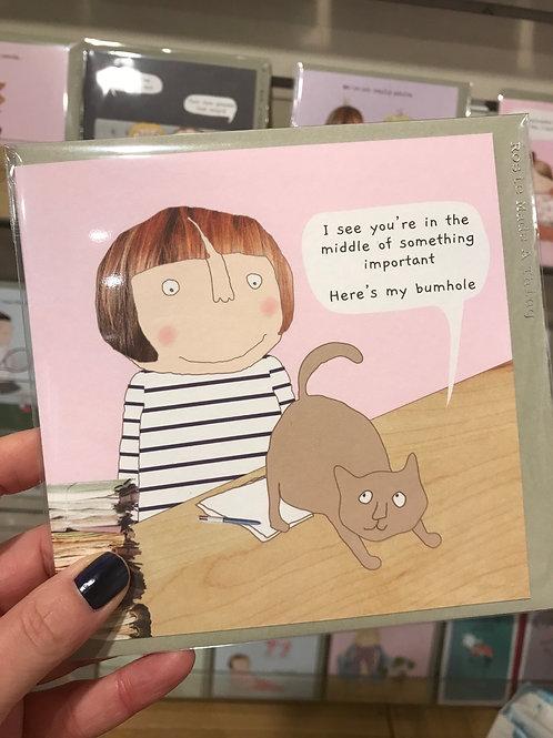 Card..Blank inside