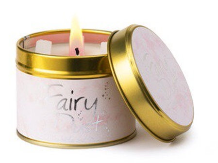 Lily flame candle...fairy dust