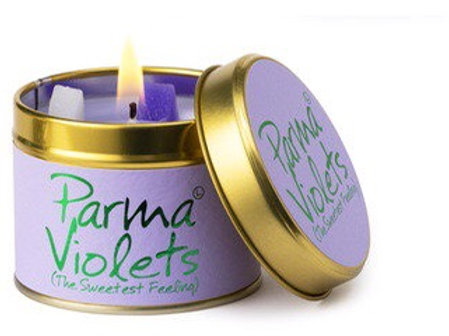 Lilly Flame candle...Parma Violets
