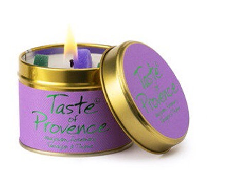 Lily Flame candle...Taste of Provence
