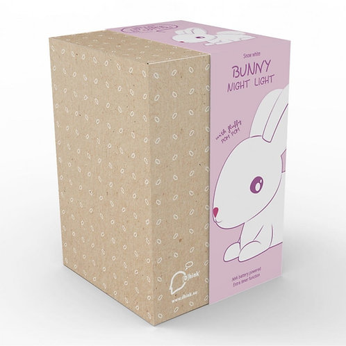 LED White Bunny Colour-Changing Nightlight