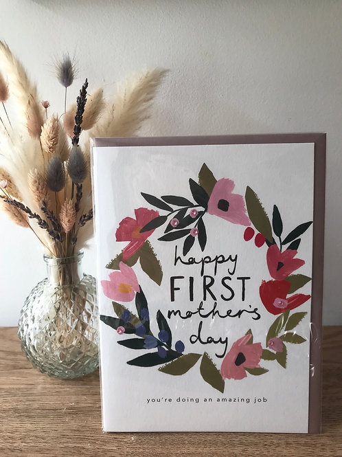 Mother's Day card...1st Mothers Day