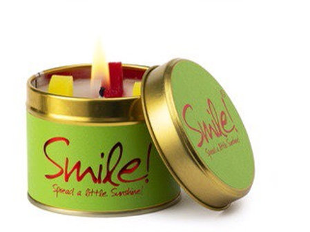 Lily Flame candle...Smile