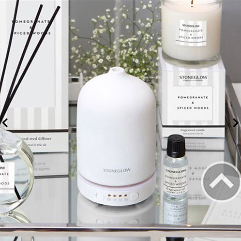 White perfume mist diffuser