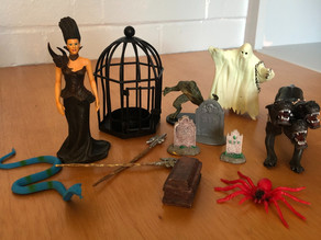 Spooky Sandtray Figures for Your Child Therapy Office
