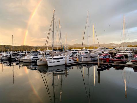 Early morning rainbows!