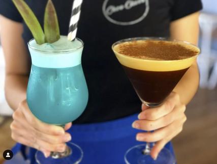 Espresso Martini or Blue Lagoon?