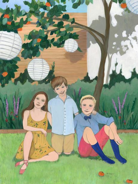 Clementine, Bowe, and Duke