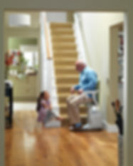 stannah straight stairlift by livogis aging at home solutions houston texas