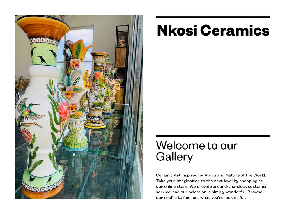 Welcome to Nkosi Ceramics