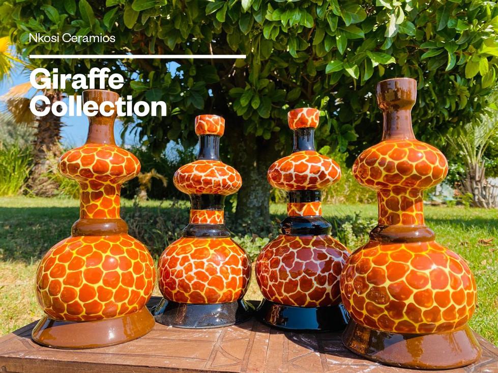 Giraffe Candle Holders