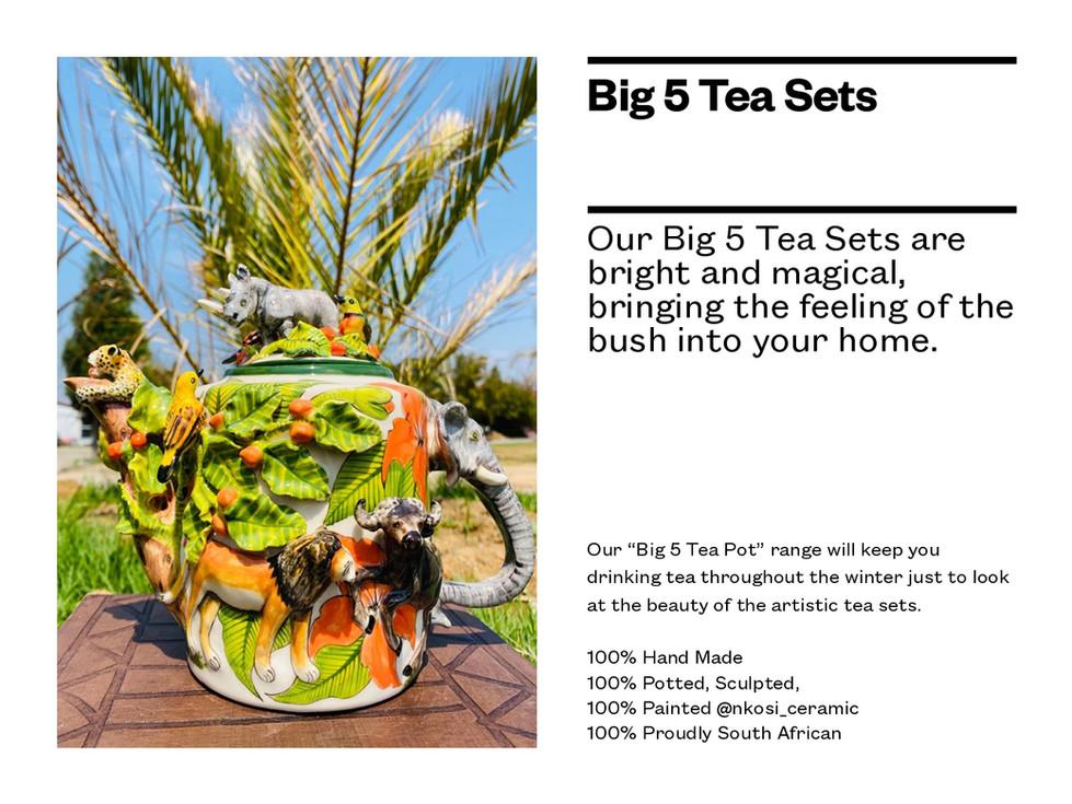 Big 5 Tea Pots