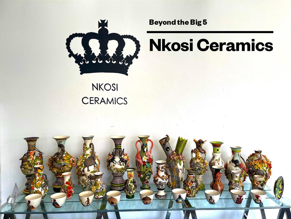 Nkosi Ceramics Portfolio