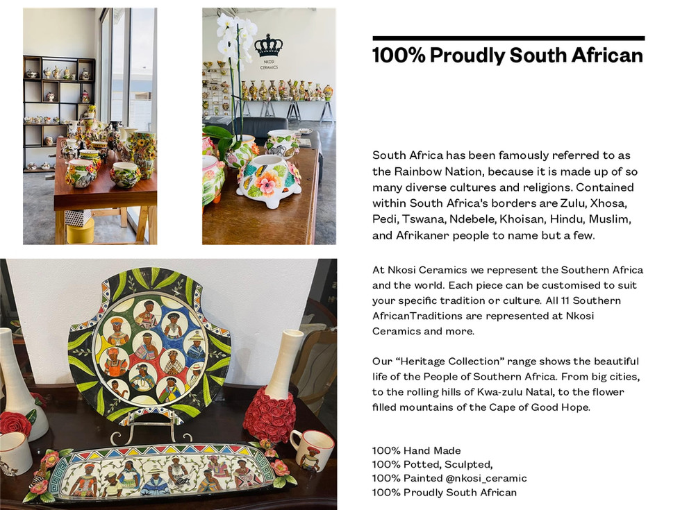 100% Proudly South Africa