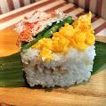 牛乳パックで作る押し寿司