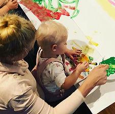 #mommyandme #art #creative #development