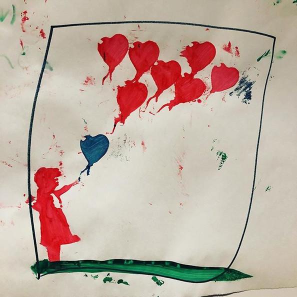 #banksy #stencil #class #playday #havefu