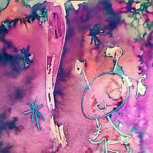 #nebula #space #mixedmedia #art #artclas