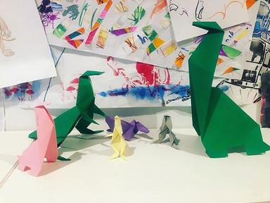 #origami #scale #class #creative #social