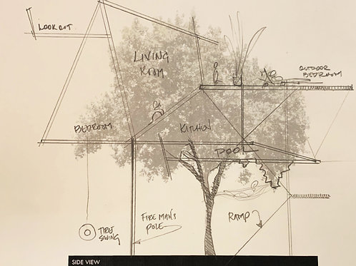 AT HOME LITTLE ARCHITECTS: TREE HOUSE DESIGN