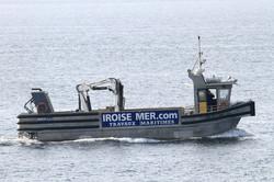 Navire travaux maritimes