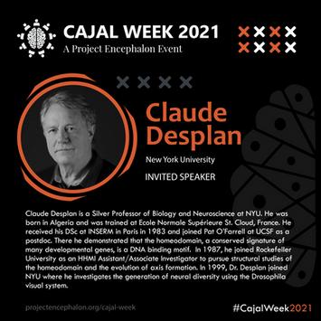 Dr Claude Desplan