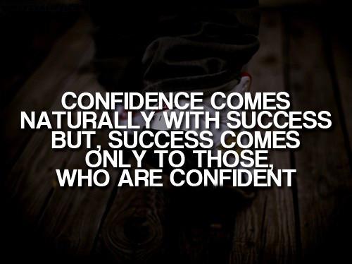 Confidence needs no Explanation