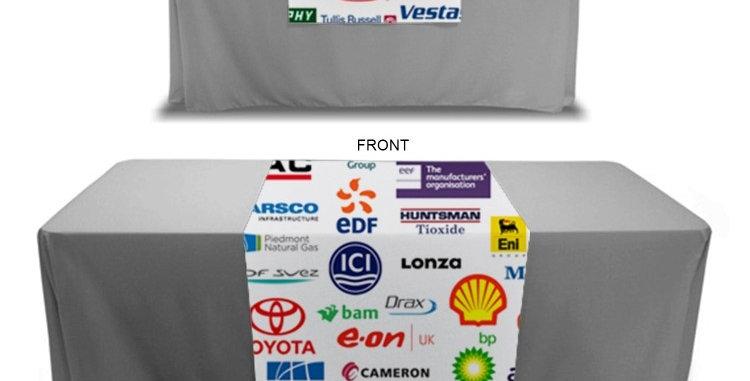 Tradeshow Logo Table Runners