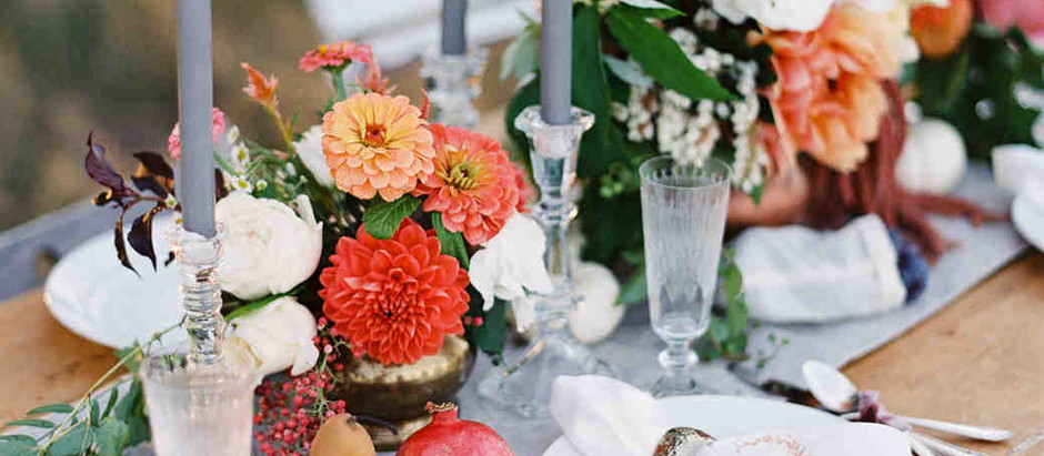 Fall 2018 Wedding Trends
