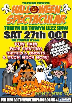 A3 Halloween Poster