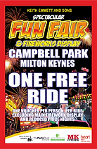 Campbell Park Free Ride Ticket