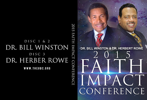 Faith Impact Conference 2015 DVD Set