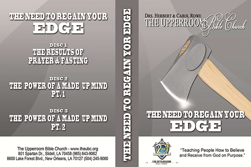 The Need to Regain Your Edge (CD)