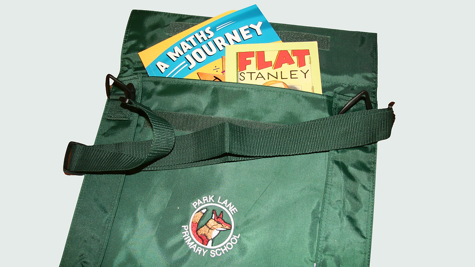 Book-Bags with School Badge