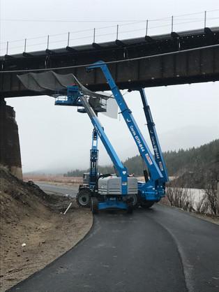Railroad Overhead Protection