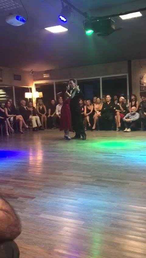 Mi tango triste orq. Anibal Troilo - Alberto Marino   Pablo y Roberta Tango   Tanguera 30/9/2017