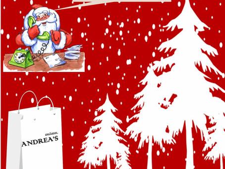 """Доставка к новогоднему столу из ресторана """"Andrea's"""""""