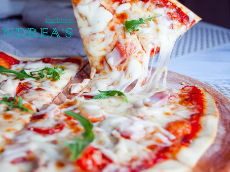 Попробуйте истинный вкус настоящей итальянской пиццы от ресторана ANDREA'S