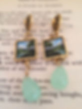 Lazy River earrings