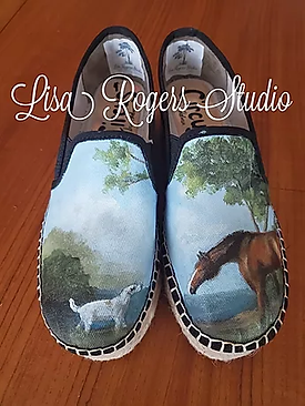 George Stubbs painted shoes.webp