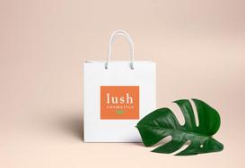 Lush Rebrand Mockup