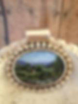 English Pasture pendant