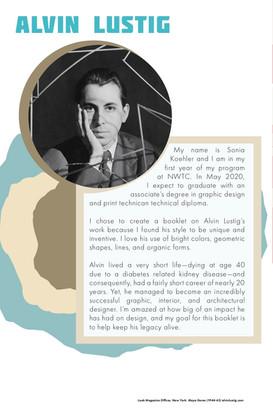 Alvin Lustig Booklet - Intro